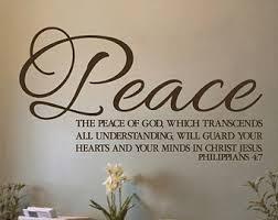 Peace Phil 4:7
